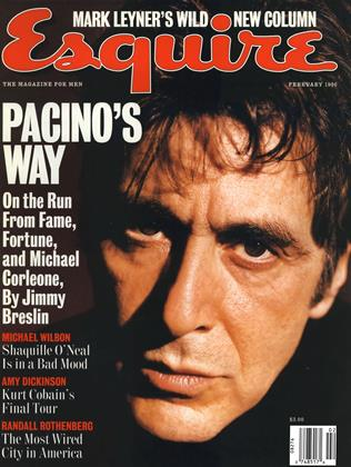 Cover for the February 1996 issue