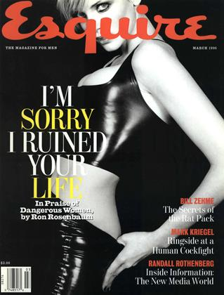 Cover for the March 1996 issue
