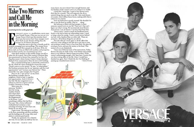Article Preview: Take Two Mirrors and Call Me in the Morning, MARCH 1996 1996 | Esquire