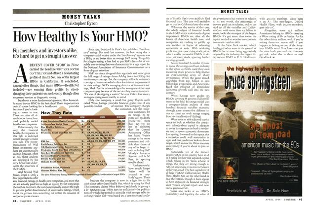 How Healthy Is Your HMO?