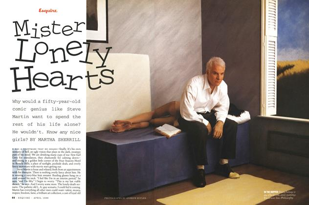 Article Preview: Mister Lonely Hearts, April 1996 | Esquire