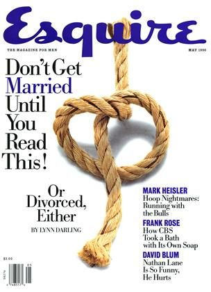 Cover for the May 1996 issue