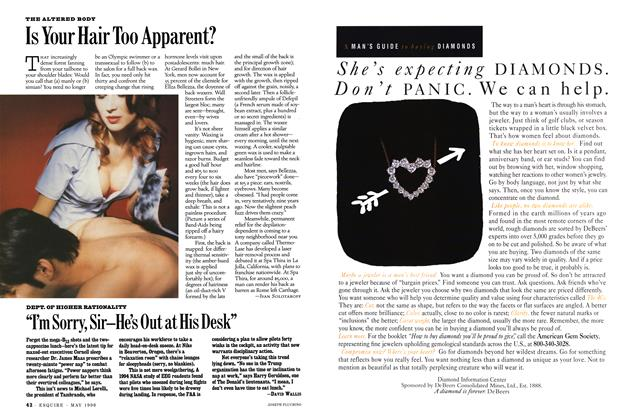 Article Preview: Is Your Hair Too Apparent?, May 1996 | Esquire