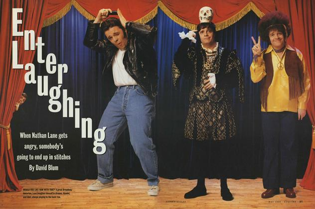 Article Preview: Enter Laughing, MAY 1996 1996 | Esquire