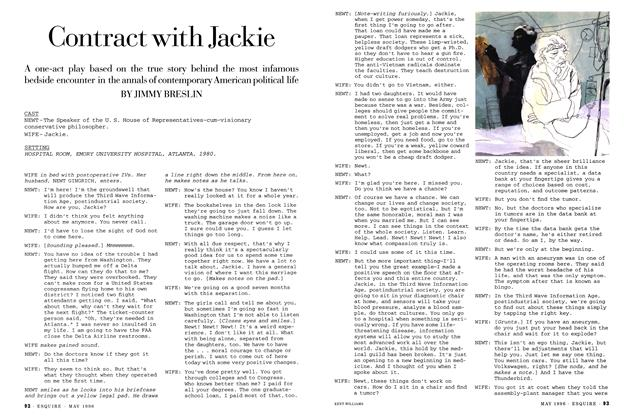 Contract with Jackie