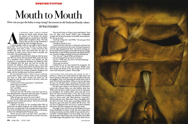 Article Preview: Mouth to Mouth, JUNE 1996 1996 | Esquire