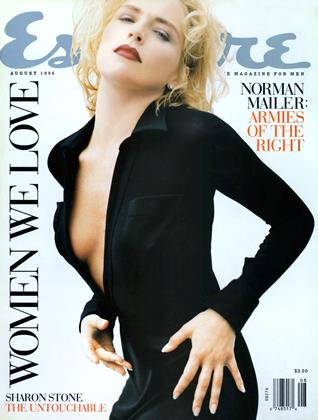 Cover for the August 1996 issue