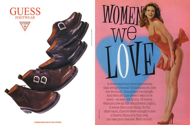 Article Preview: Women We Love, AUGUST 1996 1996 | Esquire