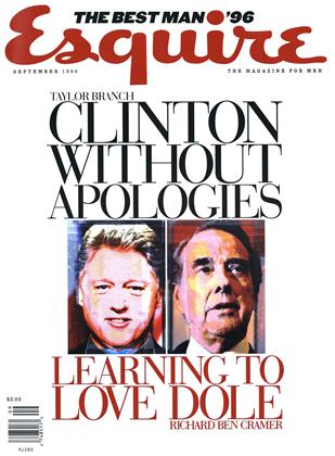 Cover for the September 1996 issue