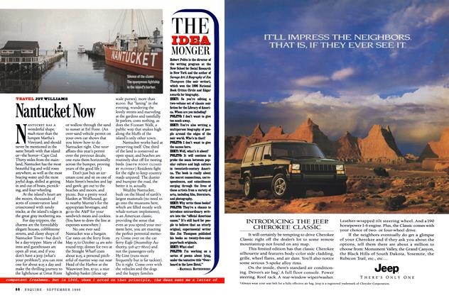 Article Preview: Nantucket Now, September 1996 | Esquire