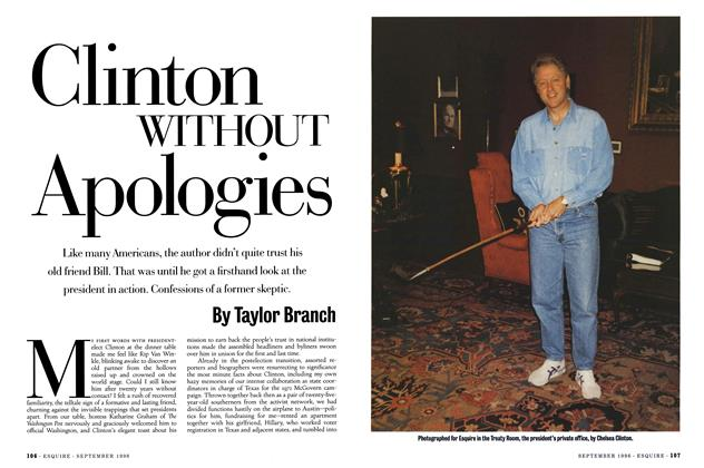 Clinton Without Apologies