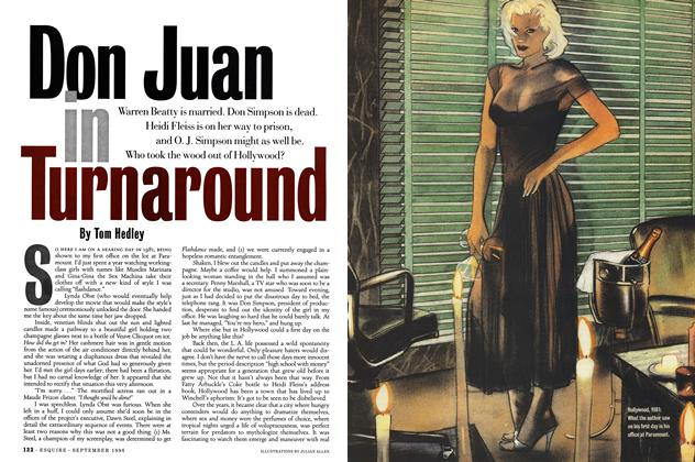 Article Preview: Don Juan in Turnaround, September 1996 | Esquire