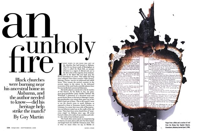 Article Preview: An Unholy Fire, SEPTEMBER 1996 1996 | Esquire