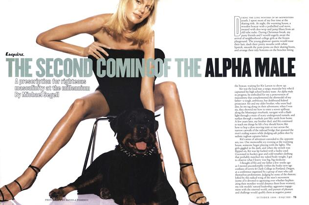 Article Preview: The Second Coming of the Alpha Male, October 1996   Esquire