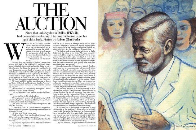 Article Preview: The Auction, October 1996   Esquire