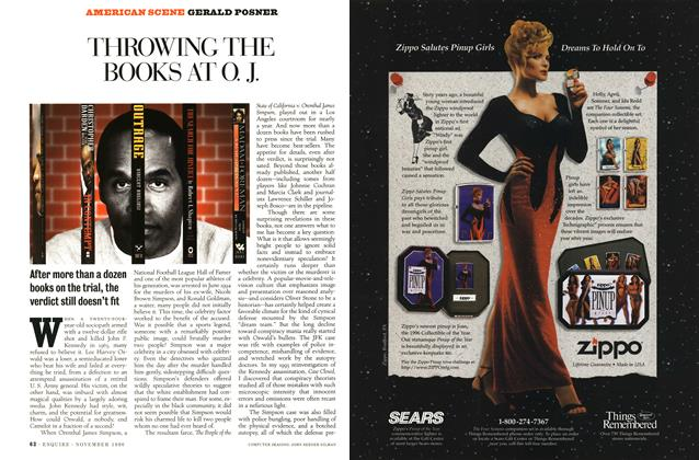 Article Preview: Throwing the Books at O.J., November 1996 | Esquire