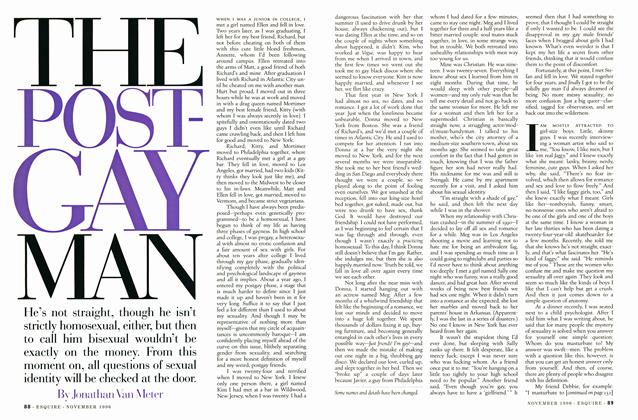 Article Preview: The Post-Gay Man, NOVEMBER 1996 1996 | Esquire