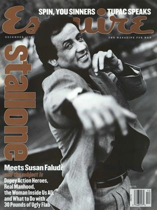 Cover for the December 1996 issue
