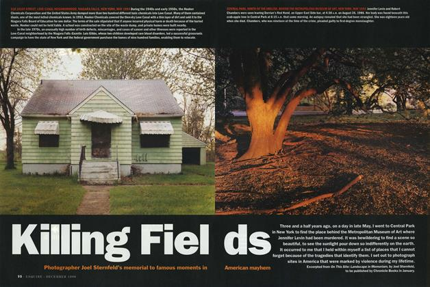Article Preview: Killing Fields, DECEMBER 1996 1996 | Esquire