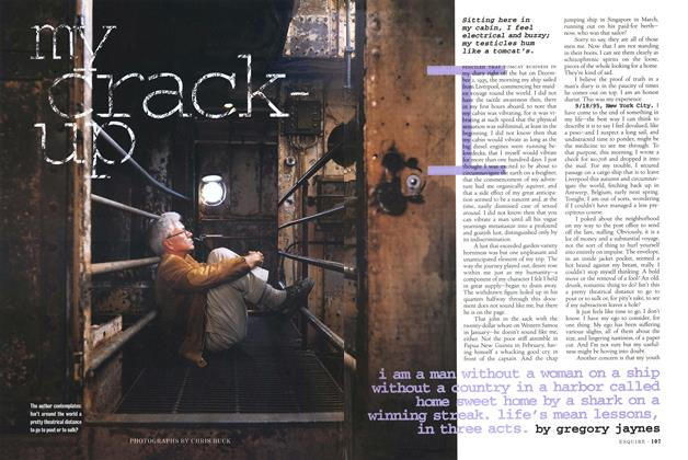 Article Preview: My Crack-Up, December 1996 | Esquire