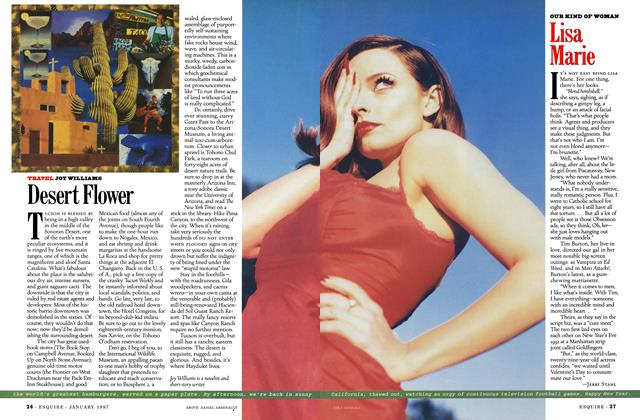 Article Preview: Desert Flower, January 1997 | Esquire