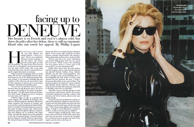 Article Preview: Facing Up to Deneuve, JANUARY 1997 1997 | Esquire
