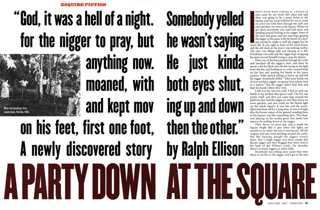 Article Preview: A Party Down at the Square, January 1997 | Esquire