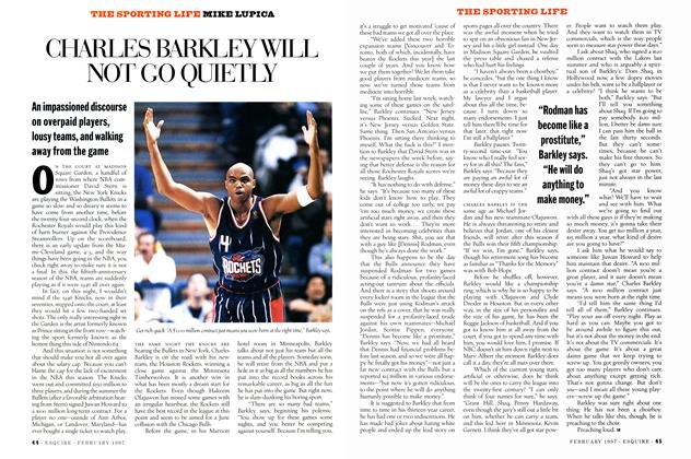 Charles Barkley Will Not Go Quietly