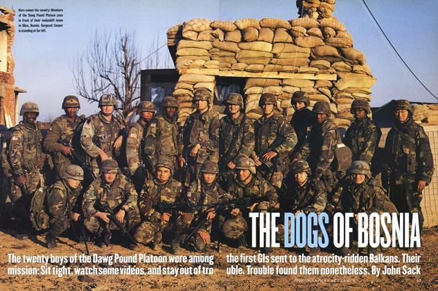Article Preview: The Dogs of Bosnia, February 1997 | Esquire