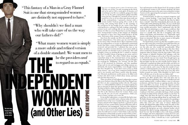 The Independent Woman (and Other Lies)
