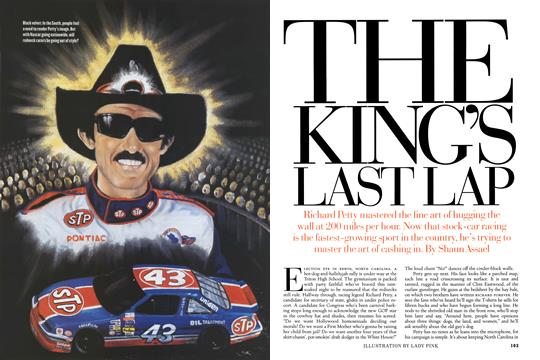 The King's Last Lap, Page: 102 - MARCH 1997 | Esquire