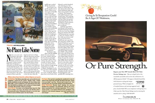 Article Preview: No Place Like Nome, March 1997 | Esquire