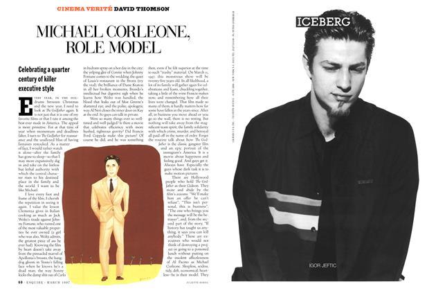 Article Preview: Michael Corleone, Role Model, MARCH 1997 1997 | Esquire