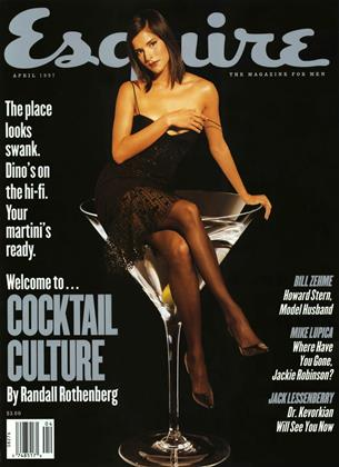 Cover for the April 1997 issue