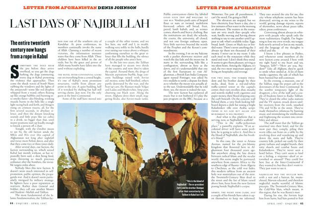 Last Days of Najibullah