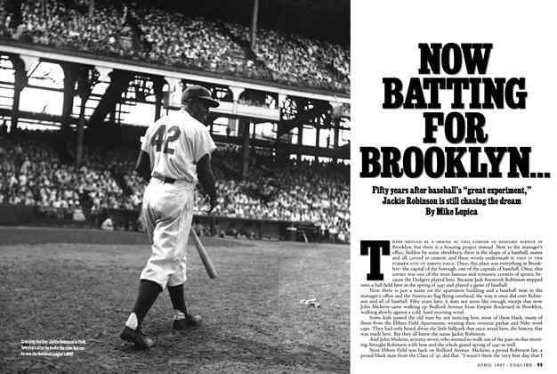 Now Batting for Brooklyn . . .