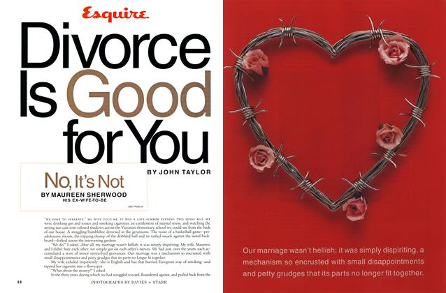 Divorce Is Good for You