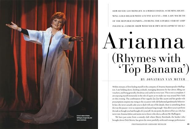 Article Preview: Arianna (Rhymes with 'Top Banana'), MAY 1997 1997 | Esquire