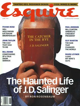 Cover for the June 1997 issue