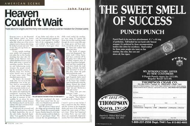 Article Preview: Heaven Couldn't Wait, June 1997 | Esquire