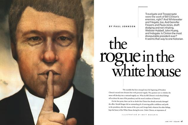 The Rogue in the White House