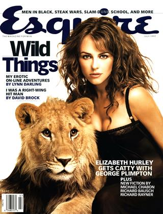 Cover for the July 1997 issue