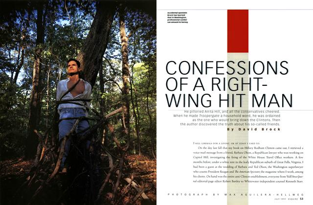 Confessions of a Right-Wing Hit Man