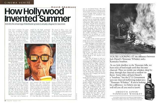How Hollywood Invented Summer