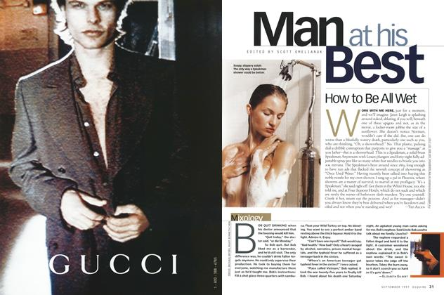 Article Preview: Mixology, September 1997 | Esquire
