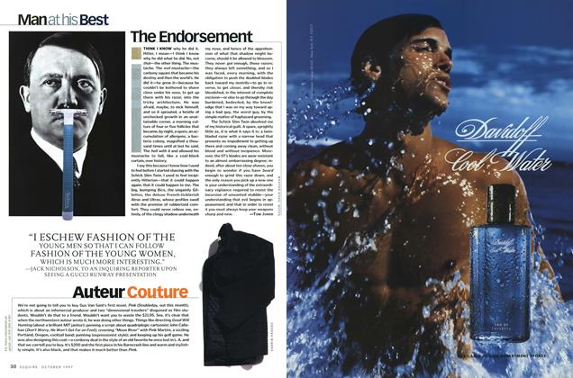 Article Preview: The Endorsement, October 1997 | Esquire