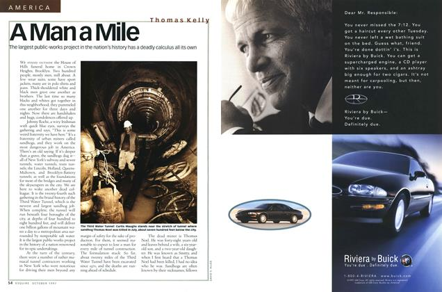 Article Preview: A Man a Mile, October 1997 | Esquire