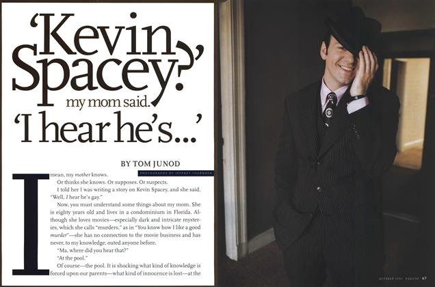 Article Preview: Kevin Spacey Has a Secret, October 1997 | Esquire