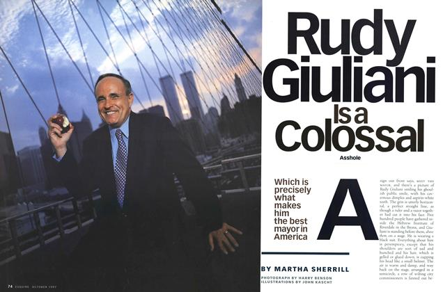 Article Preview: Rudy Giuliani Is a Colossal Asshole, October 1997 | Esquire
