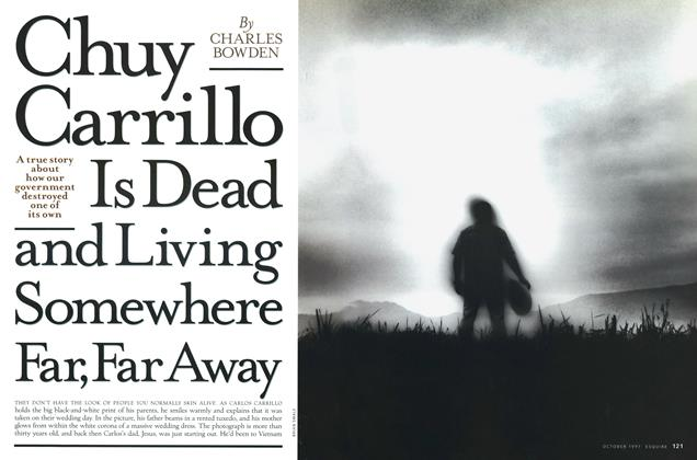 Article Preview: Chuy Carrillo Is Dead and Living Somewhere Far, Far Away, October 1997 | Esquire